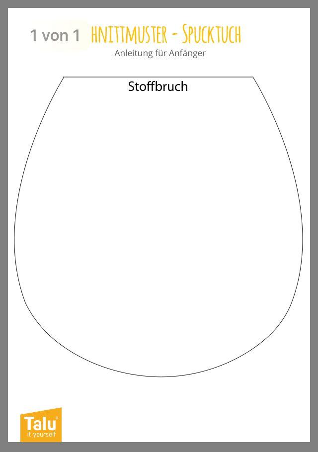 Photo of Schnittmuster Spucktuch