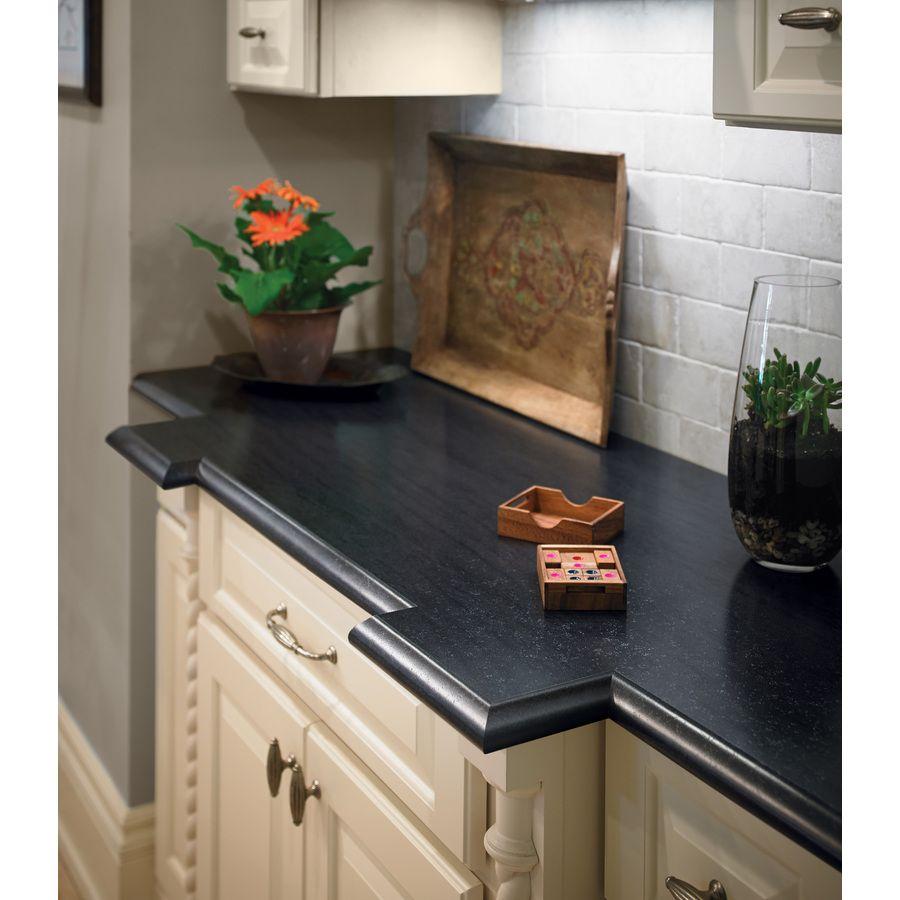 Shop Formica Brand Laminate 30 In X 144 In Lava Flow Black