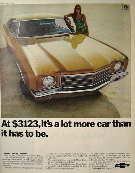 1970 chevy monte carlo coupe ad vintage chevrolet chevrolet1970 chevy monte carlo coupe ad vintage chevrolet chevrolet monte carlo, chevy monte carlo, vintage cars