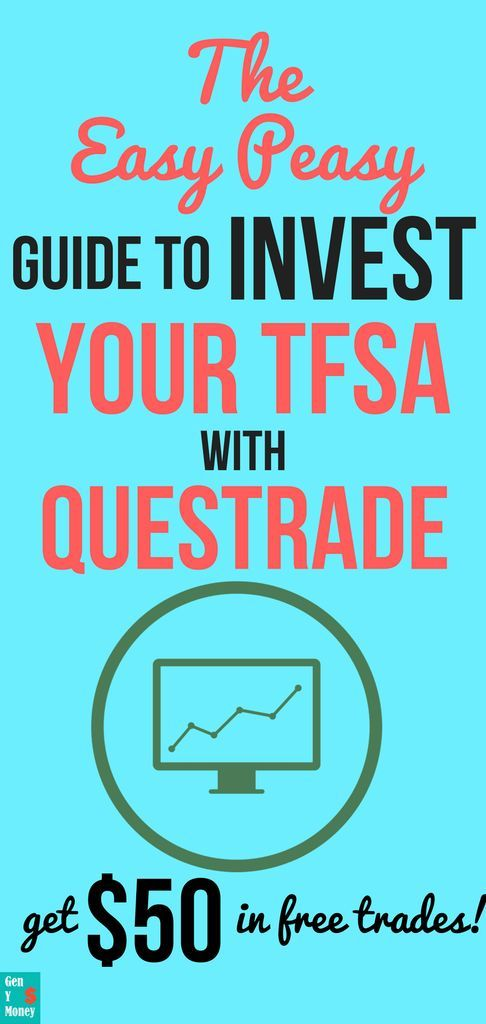 Step By Step Guide On How To Invest Your Tfsa With Questrade Diy