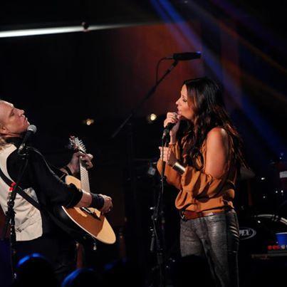 """Joe Walsh and Sara Evans--""""Best of My Love."""""""