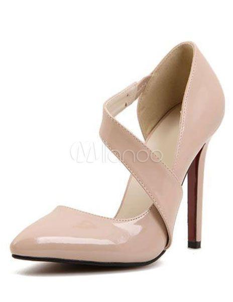 8dd960ba Zapatos puntiagudos de charol PU | Calzado y bolsos | Zapatos ...