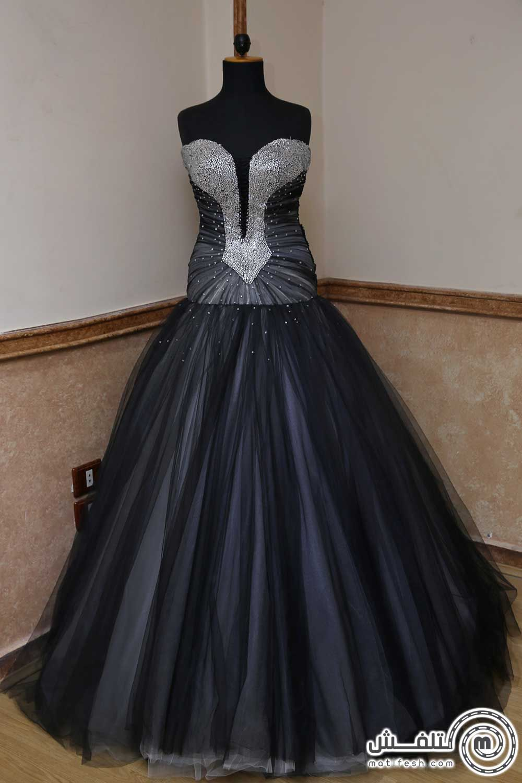 فساتين قصيرة منفوشة اسود Gowns Dresses Fashion