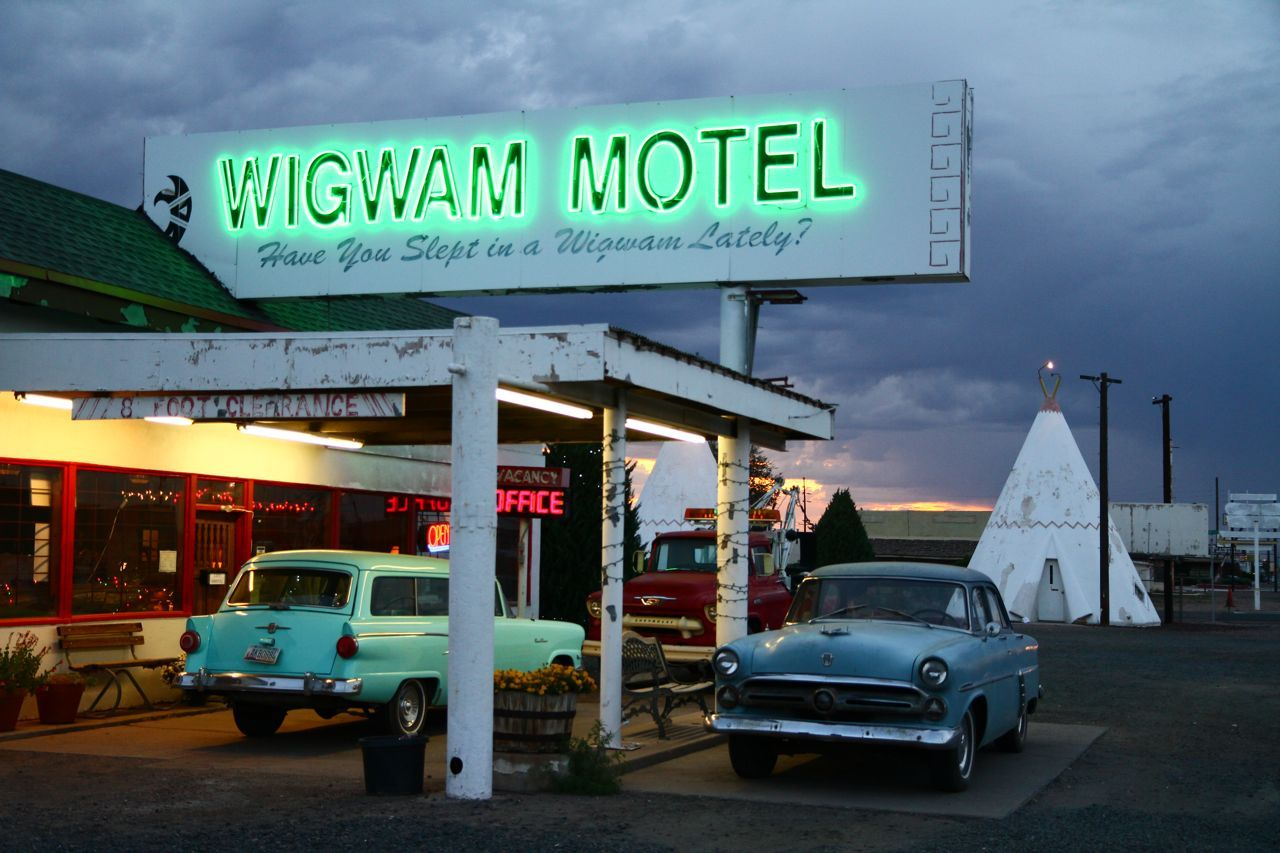 The Wigwam Motel Classic Cars And Tee Pee Rooms Need I Say More