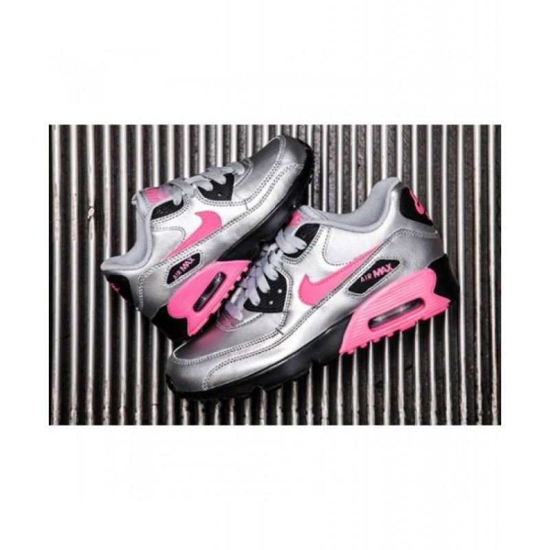 uk availability a1276 73260 ... hot nike air max 90 candy pink silver black shoes air max 90 nike air  max