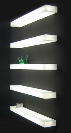 10 Ways To Light Your Kitchen Achieve The Right Look Ambience Italian Designer Illuminated Wall Mounted Shelf