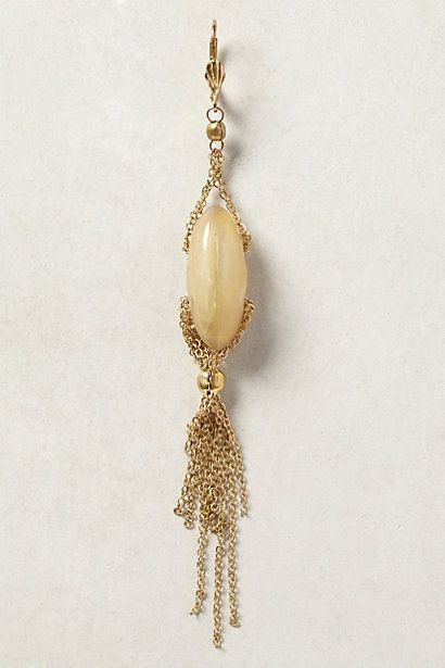 Cygnet Fringe Earrings - anthropologie.com