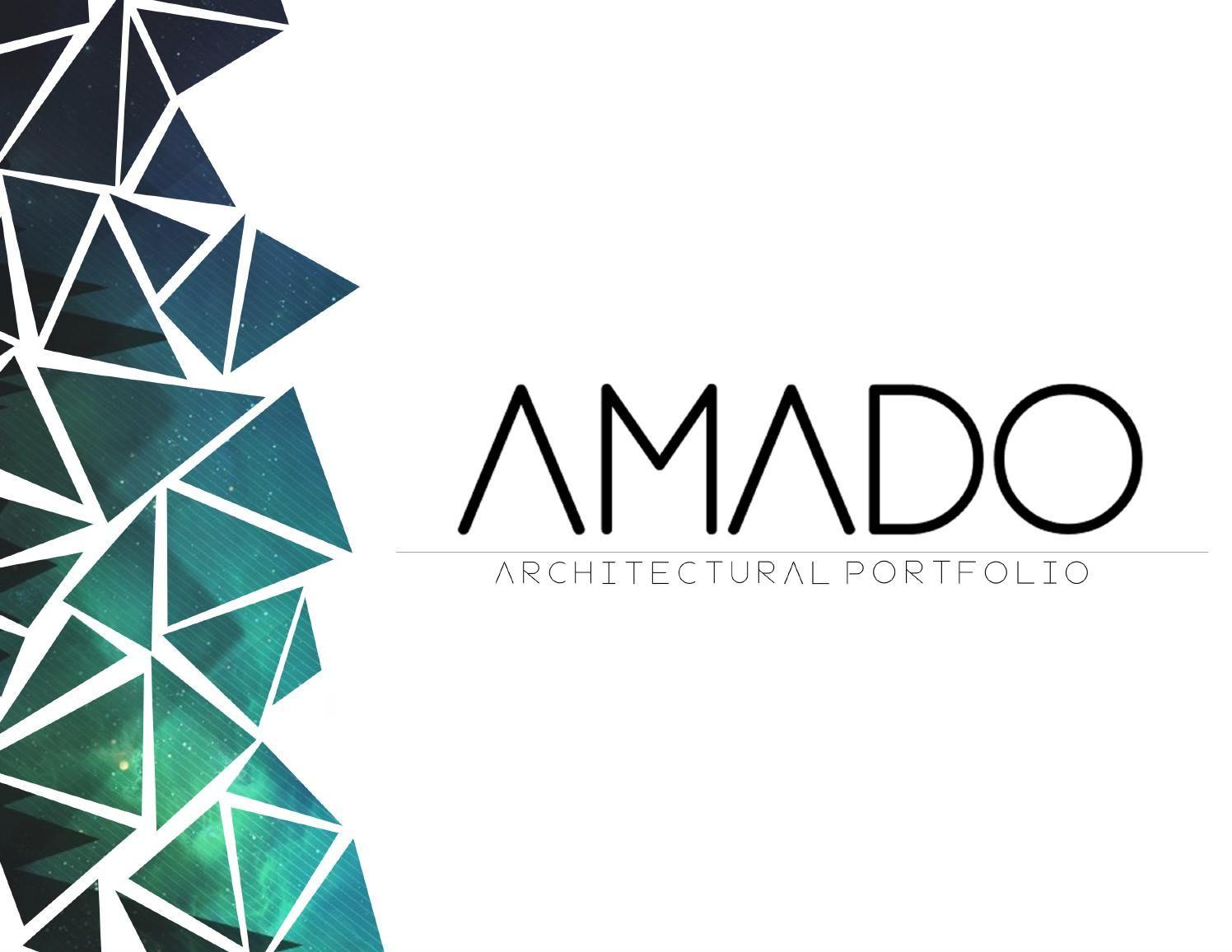 Amado ortiz architecture portfolio architecture for Architectural portfolio ideas