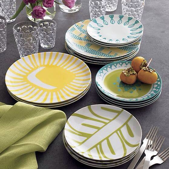 Discover ideas about Summer Patterns. Mix u0026 Match Bloom Plate in Dinner Plates & Pin by Carla Antonione on Stuff | Pinterest | Stuffing