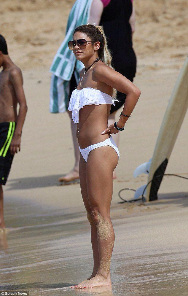Vanessa Hudgens White Bikini