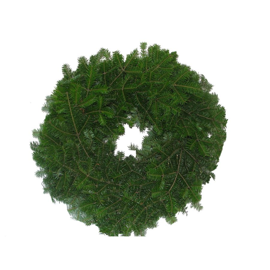 22 in fresh balsam fir christmas wreath lowes balsam fir xmas decorations - Lowes Christmas Wreaths