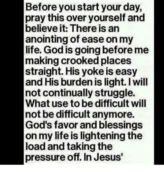 Image Result For Before You Start Your Day Pray This Over