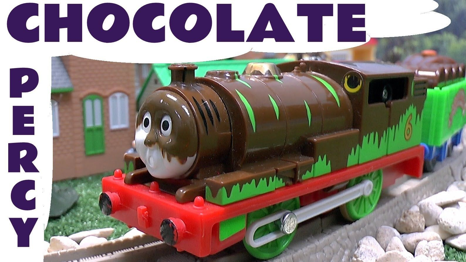 Thomas and Friends Spotlight Percy\'s Chocolate Crunch by Tomy Takara ...