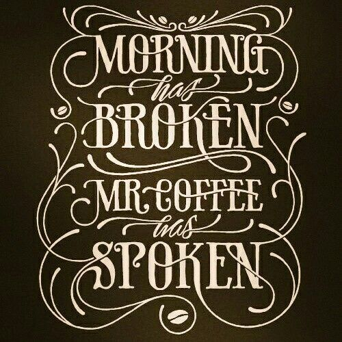 Good morning! It's shaping up to be another beautiful day here in #WestTexas :) How's your neck of the woods? #MorningCoffee  #MrCoffeeHasSpoken #goodmorning #EclecticCuriosities