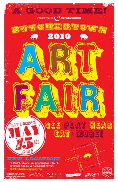 Art Fair Poster Art Fair Booth Art Fair Louisville Ky