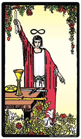 The Magician The Magician Tarot Tarot Card Meanings The Magicians