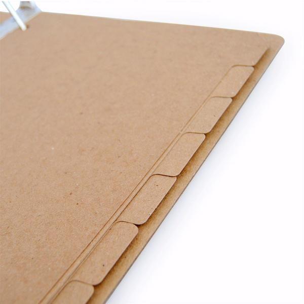 Recycled Binder Dividers - 8-Tab (Set Of 10)