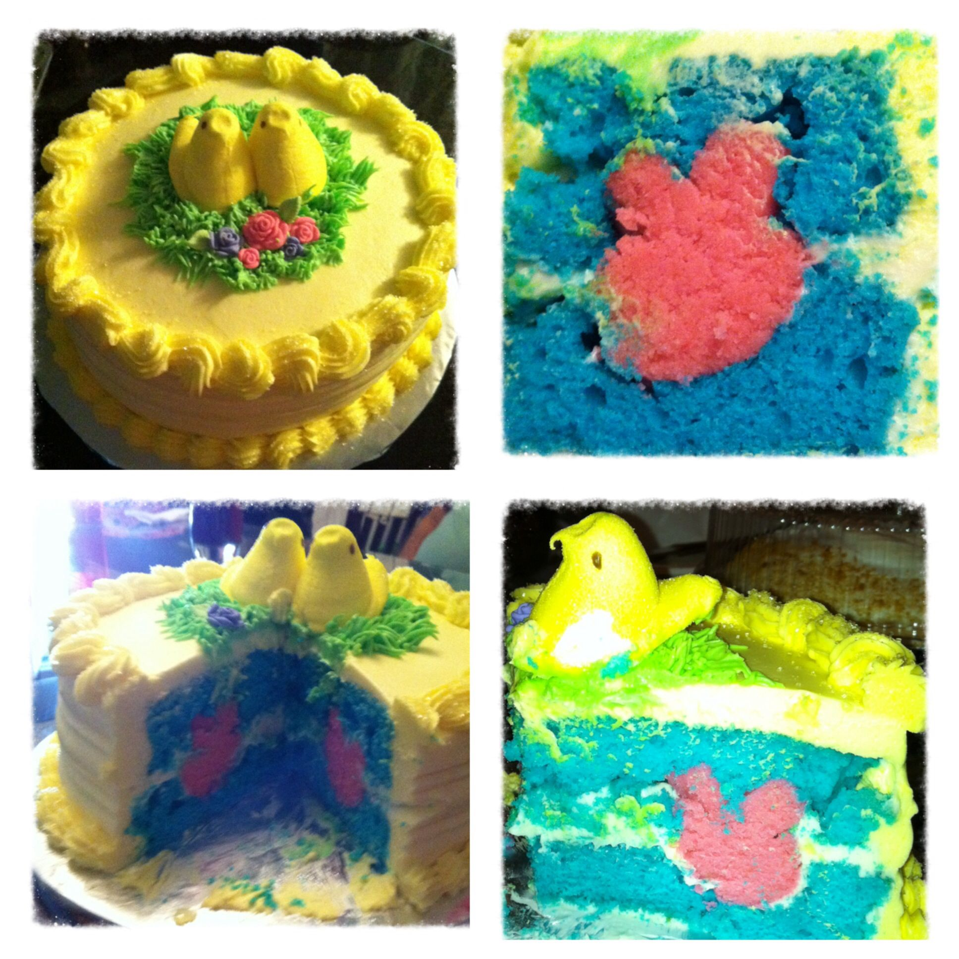 Easter surprise cake!