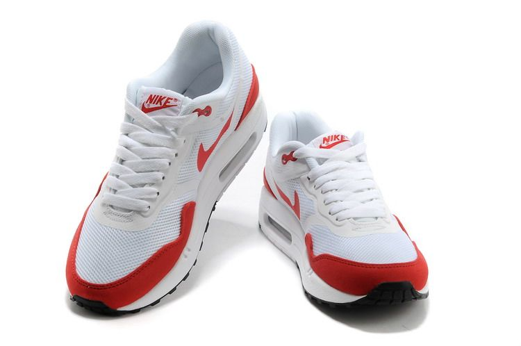 Nike Air Max 1 Tape For Sale Womens Running Shoes Black Grey Whi