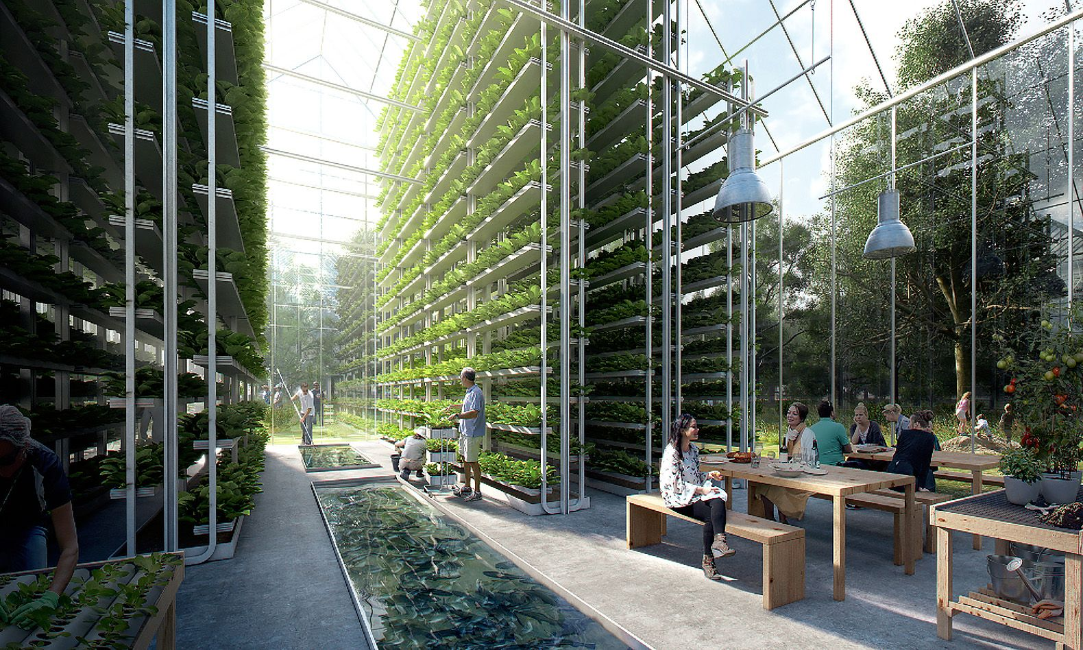 Utopian Off Grid Regen Village Produces All Of Its Own Food And