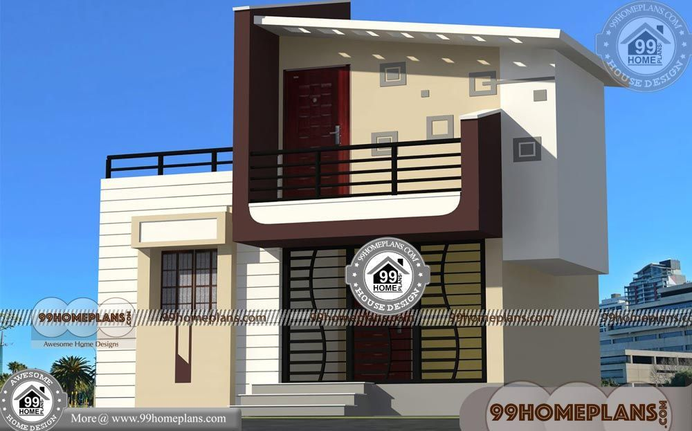 21 New Double Storey House Plans In India Collection Small House Design Double Storey House Plans House Plans
