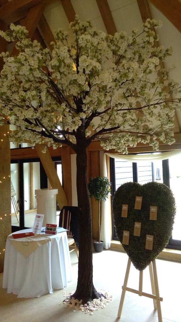 Artificial Full Size Blossom Tree And Topiary Table Plan Artificial Cherry Blossom Tree Decor Blossom Trees