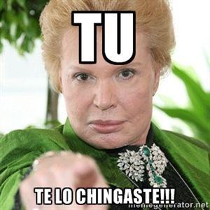 TU TE LO CHINGASTE!!! | WALTER MERCADO123