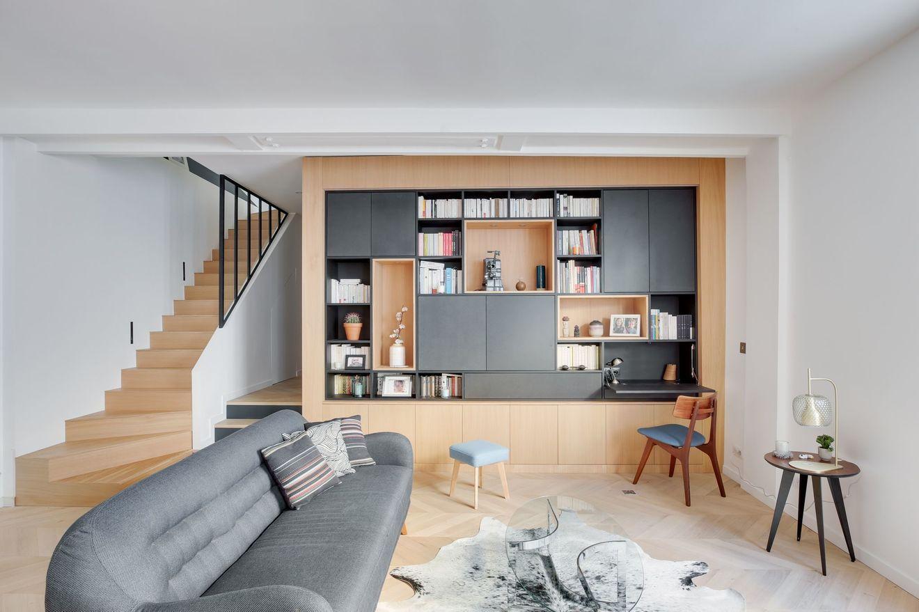 Rangement Des Meubles Sur Mesure Et Multifonctions Mobilier De Salon Disposition D Appartement Meubles Sur Mesure