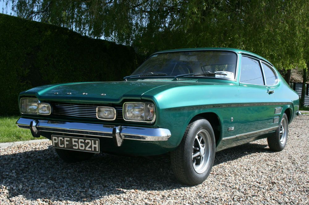 Ebay 1969 Ford Capri Mk1 1300 Gt Xl 1960s Cars With Images