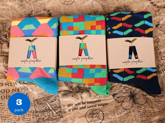 Pack de 3 para Hombre Happy Socks Calcetines