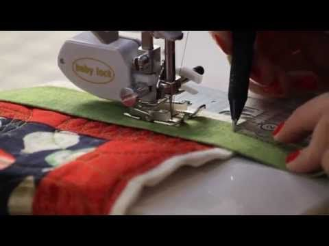 ▶ How to Machine Bind Your Quilts - Fat Quarter Shop - YouTube