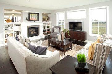 The Summerlin   Traditional   Living Room   Minneapolis   Robert Thomas  Homes