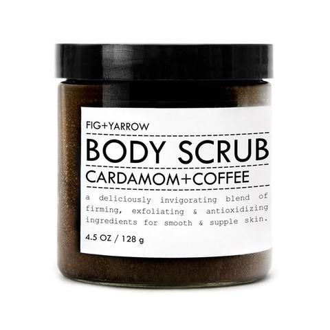 CARDAMOM+COFFEE BODY SCRUB is a deliciously invigorating blend of firming, exfoliating and antioxidizing ingredients for smooth and supple skin.* *our search fo