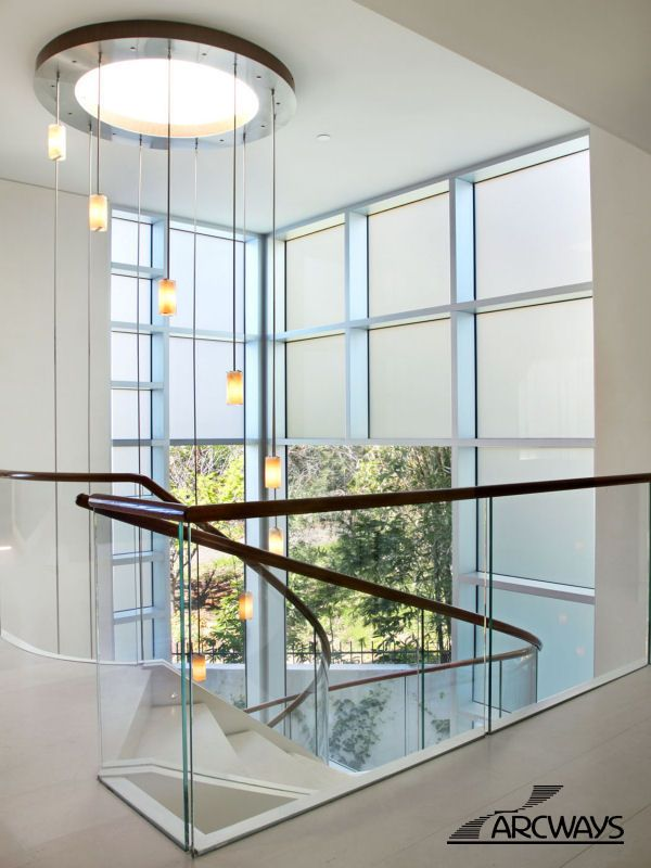 Curved Stairs | Curved Staircase | Circular Staircase | Modern Staircase |  Classical Staircase · Glass Stair RailingCurved ...