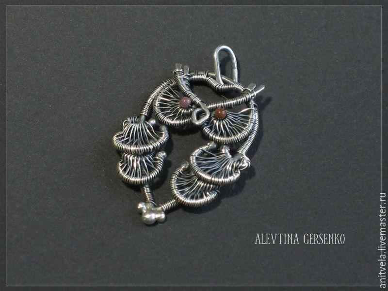 """Купить Кулон """"Сова"""" (серебро) - кулон, украшения ручной работы, сова, совушка, птица, серебро"""