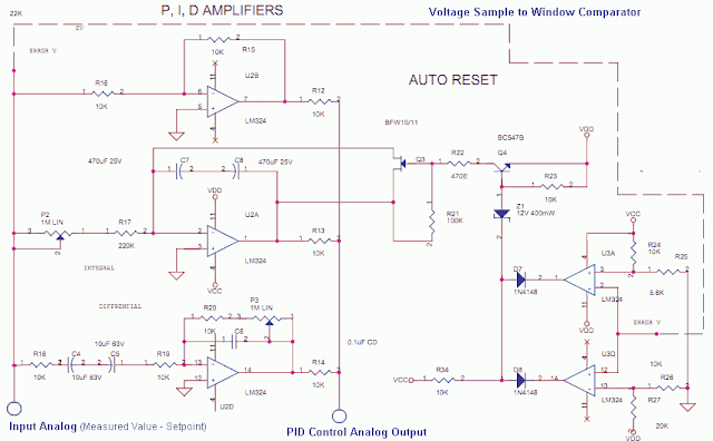 Analog Pid Control Using Opamps Elektronica