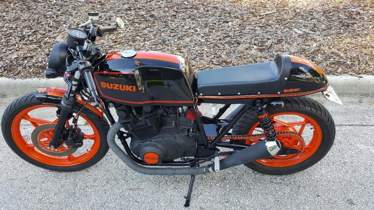 1981 Suzuki Gs 450 0 Suzuki Motorcycles For Sale Cafe Racer