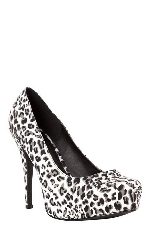 8d5e183e20a8 Snow Leopard System Heels (Wide Width)