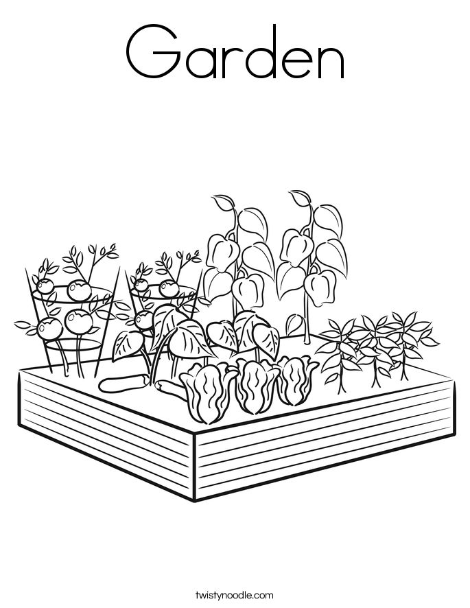 Explore Family Garden Coloring Pages And More