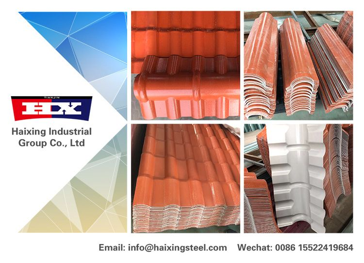 ASA roof tile generally use excellent high weatherability