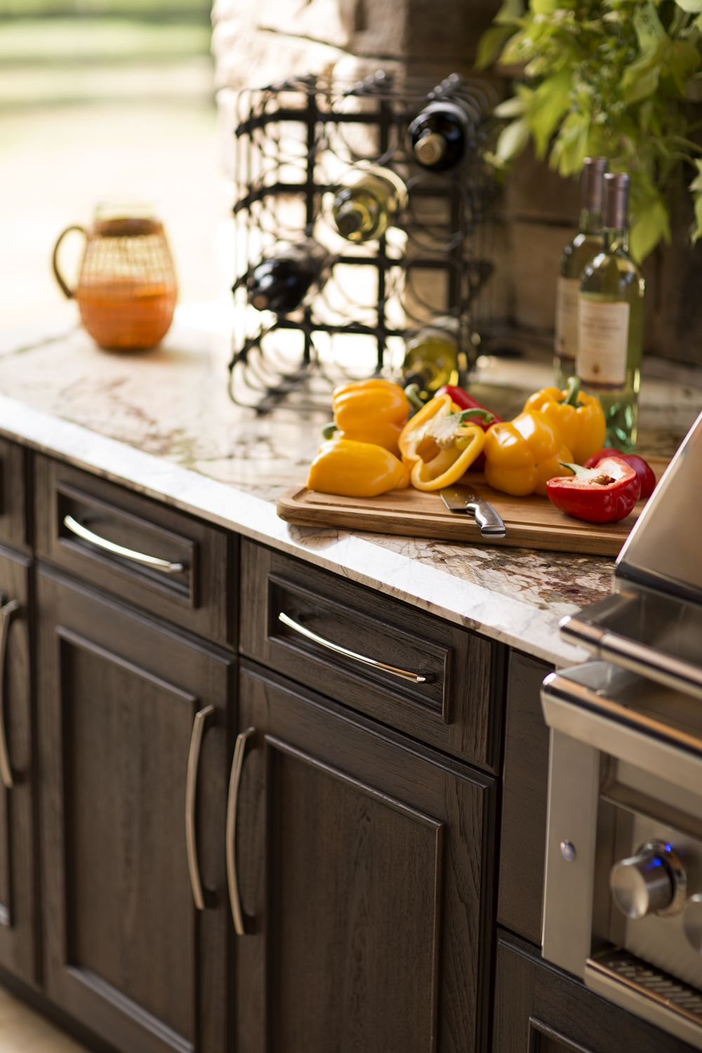 trex outdoor kitchens features customizable cabinets that provide storage for utensils and food on outdoor kitchen essentials id=76681