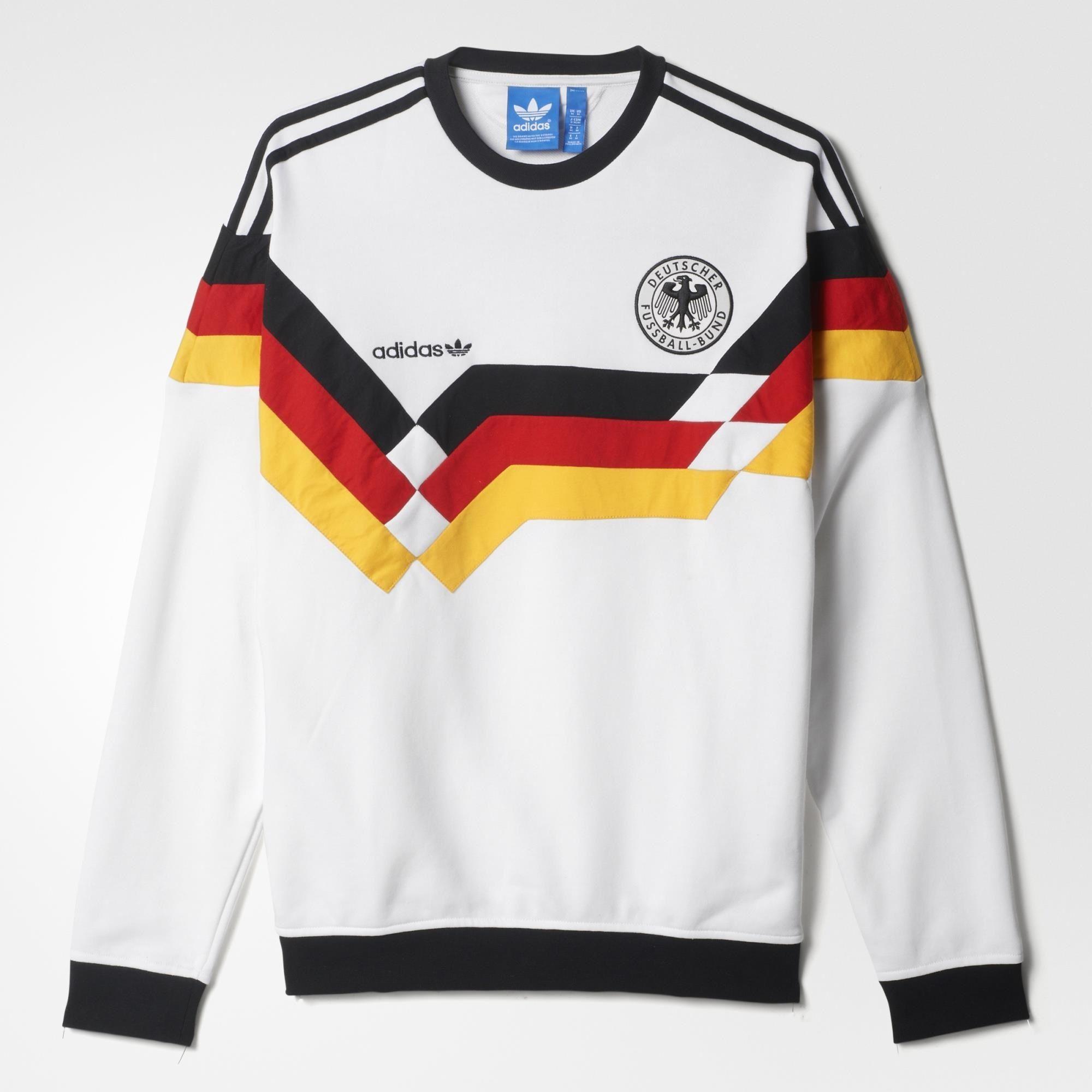 A coleção da adidas Originals para Franz Beckenbauer - Futebol Marketing.  Adidas OgAdidas ShoesAdidas VintageCrew SweatshirtsMens ...