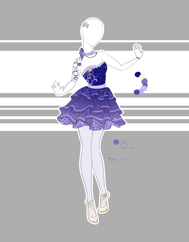 .Outfit Adoptable 50(OPEN PRICE DROP 10). by