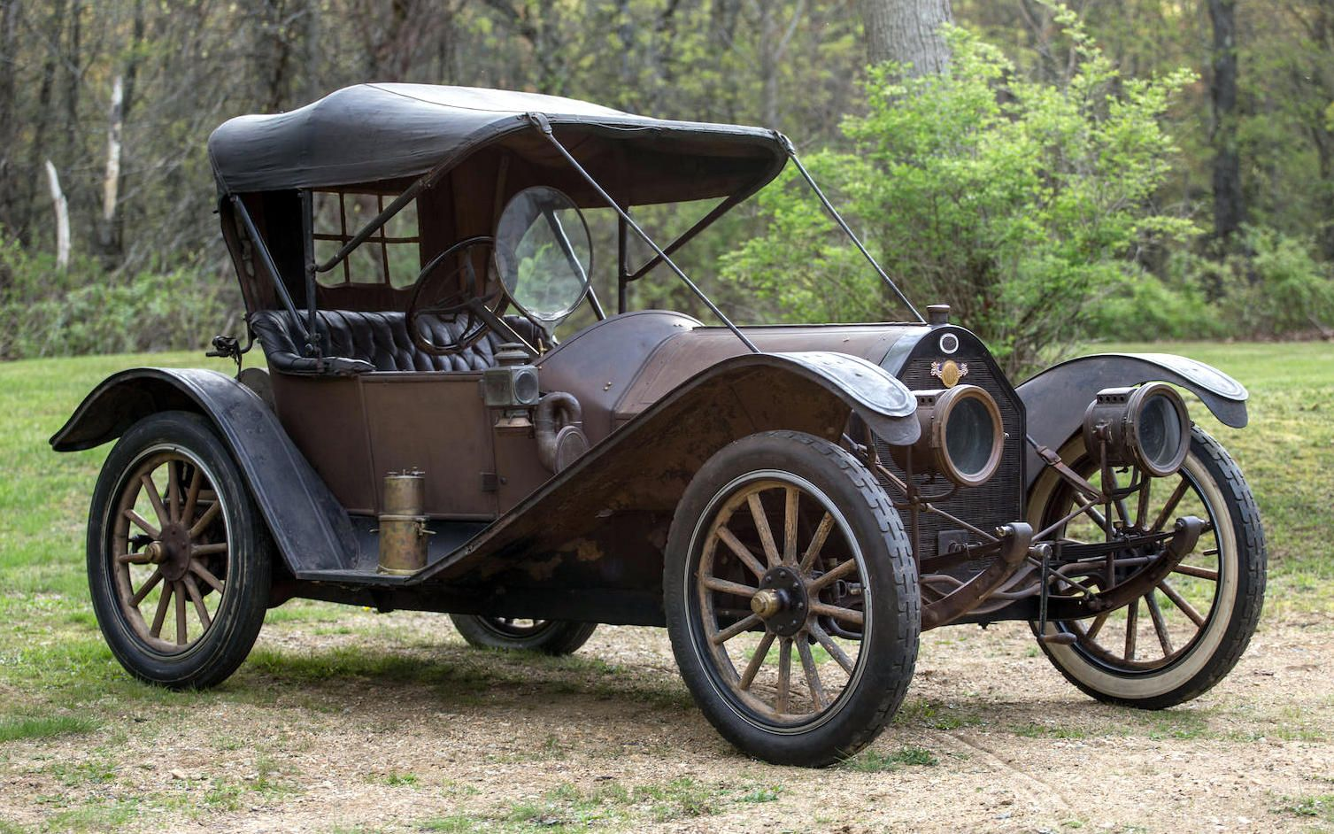 Amazing Survivor: 1913 Regal Underslung Roadster | Barn finds and Cars