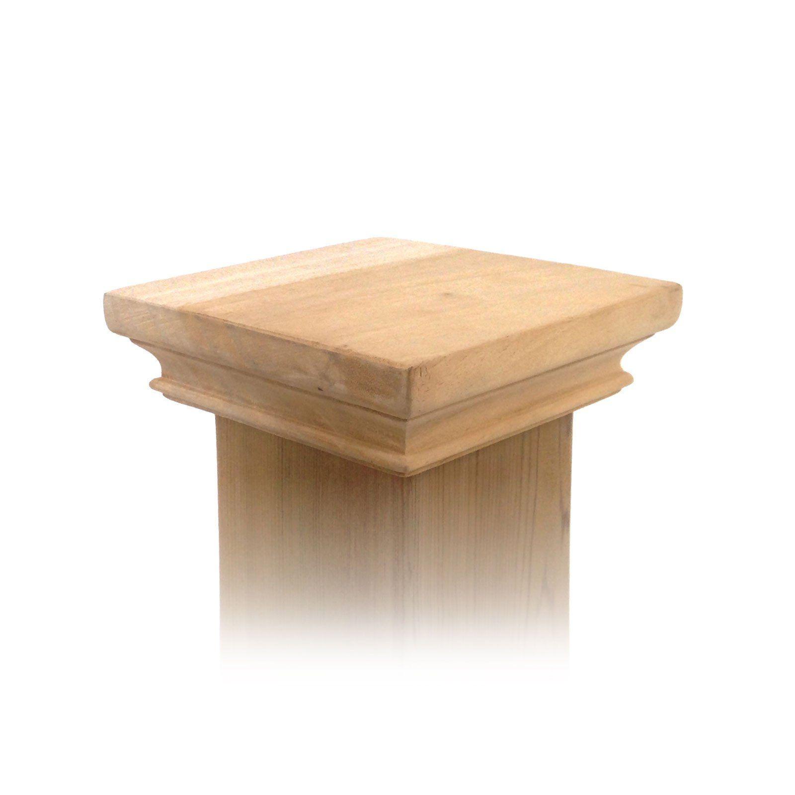 Wood Post Caps Deck Tops 4x4 5x5 6x6 4x6 Copper Tops Usa Wood Post Post Cap Wooden Fence Posts