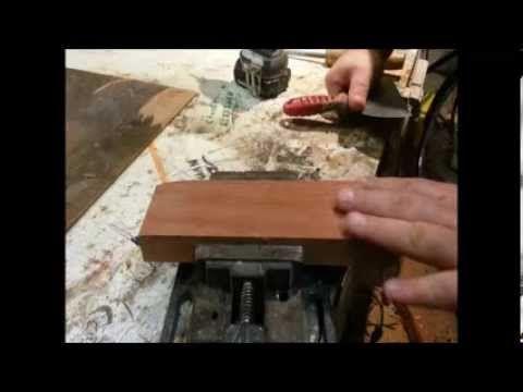 Make A Homemade Card Scraper Putty Knife Homemade Tools Homemade Cards Wood Shop