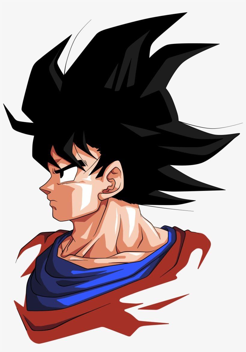 Download Goku By Bardocksonic D5uqd7y Goku Face Side View Png Image For Free Search More Creative Png Reso Goku Face Anime Dragon Ball Super Dragon Ball Art