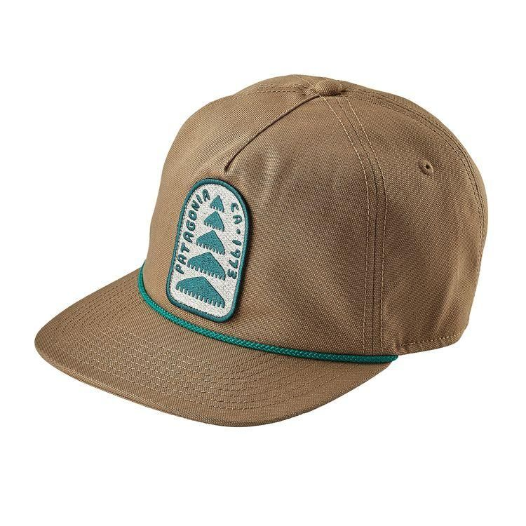 c08b880ac569b Patagonia Old Growth Patch Stand Up Hat