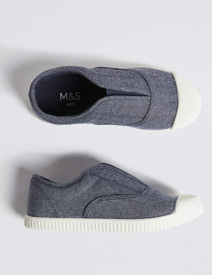 Spencer Kids Laceless Trainers (4