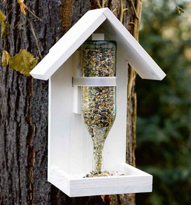 Vögel füttern (KREATIV.INSPIRATION.) #vogelhausbauen